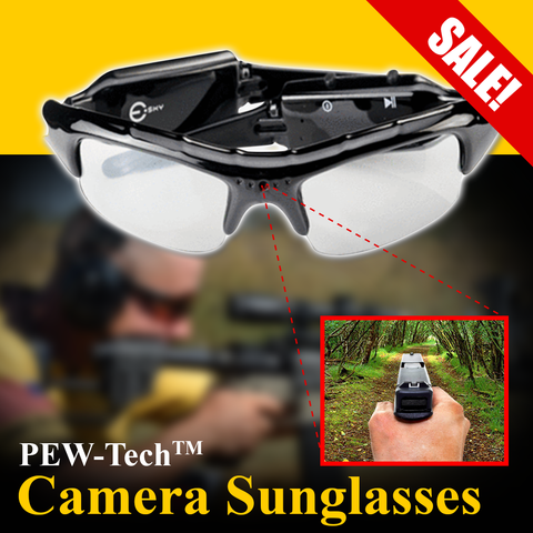 PEW-Tech™ CAMERA SUNGLASSES