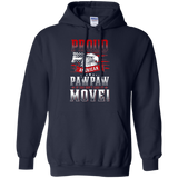 Proud American Paw Paw If You Don't Like It Move! T-Shirt