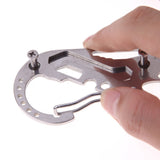 Stainless Steel Multi-function Key Holder Clip