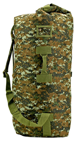 Bags - Military Duffle Large - Green Digital Camo