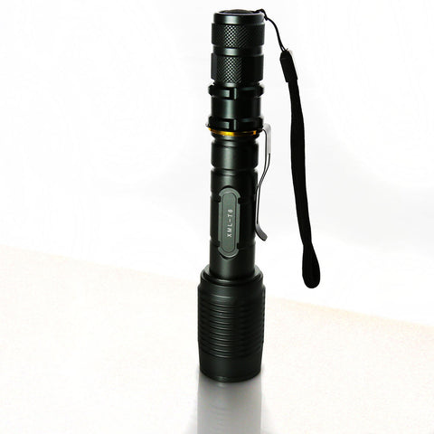 2 x Ultrafire 6000 Lumen Tactical T6 LED Flashlight Torch+18650 Battery +  Charger