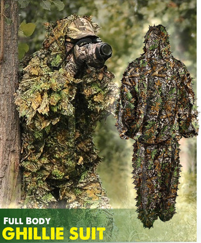 Hunting Camo - 3D Leaf Ghillie Suit Hunting Camo