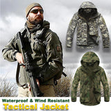 Military Tactical Wind Resistant & Waterproof Jacket