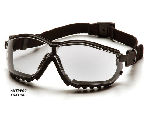Safety Glasses with Anti-Fog Coating