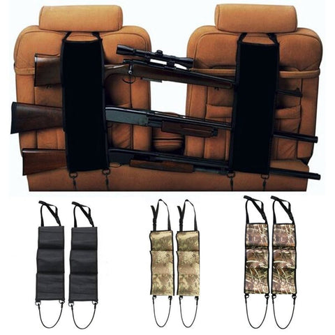 Car Back Seat Gun Rack, Rifle Holder