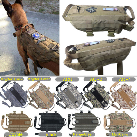 Tactical K9 Dog Harness