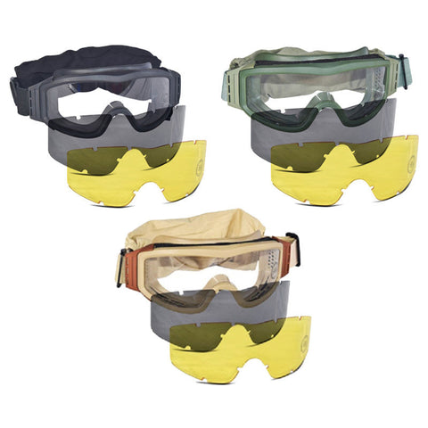 Lancer Safety Glasses with Interchangeable Lens