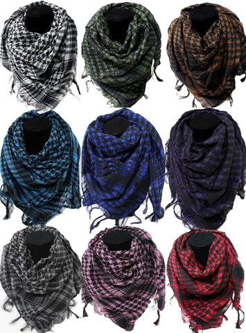 Shemagh - Shemagh Keffiyeh Military Tactical Lightweight Scarf