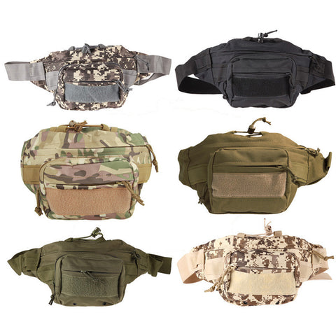 Shoulder & Waist Bag - Outdoor Molle Military Tactical Waist Pack Shoulder Bag