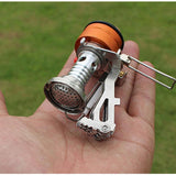 Stove - New Backpacking Canister Stove Burner Camp Camping Outdoor Portable Mini