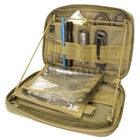 Tactical Tool Pouch Bag - CONDOR TAN MA54 MOLLE PALS Tactical Tool Utility Accessory T&T Vest Pouch Bag
