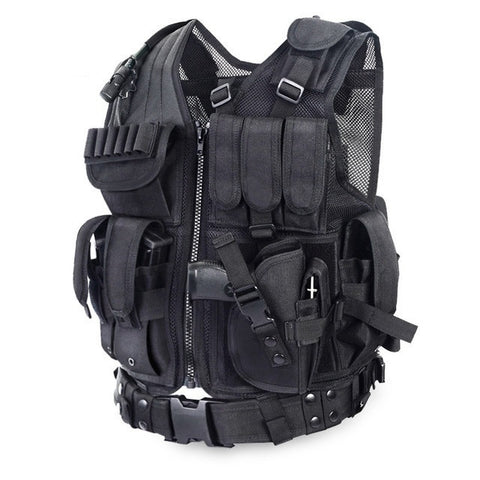 Tactical Vest - Tactical Vest Outdoor Camouflage Military Vest
