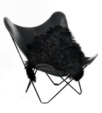 Black Austrian Sheepskin
