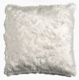 White Alpaca cushion