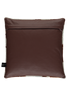 Brown and white Cow Hide leather cushions_02
