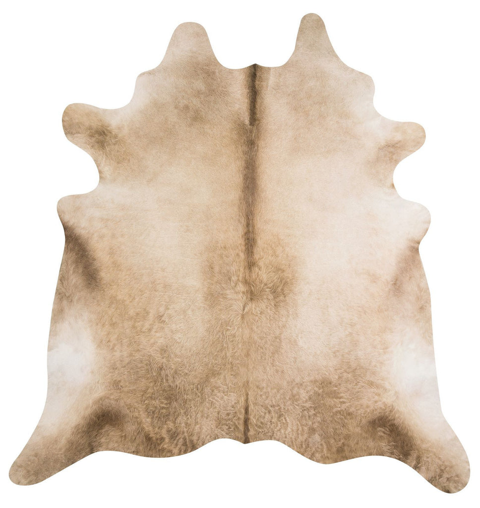 Champagne cow hide rug