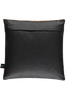 Black Cow Hide leather cushions