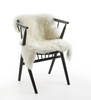 White New Zealand long wool sheepskin