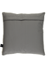 Light grey Cow Hide leather cushions
