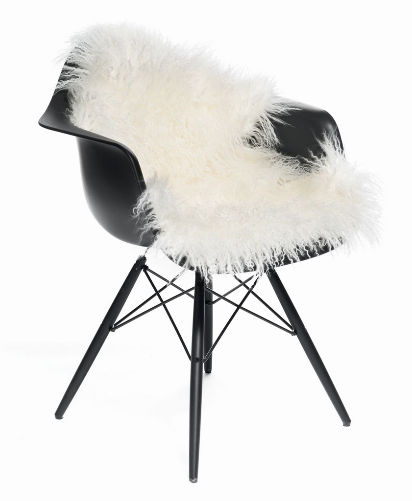 85 x 50 cm Tibetan Sheepskin | Long-wool curly