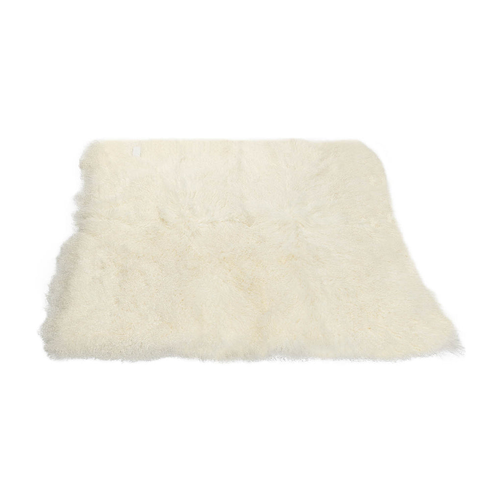 Sheepskin Throw From Tibet Large Curly Sheepskin
