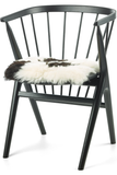 Spotted Icelandic Sheepskin Seat Covers short wool