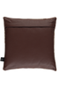 Brown white Cow Hide leather cushions_02