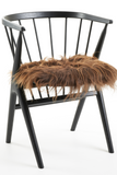 Brown Icelandic Sheepskin Seat Covers long wool