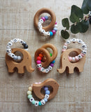 'Hi Baby' Personalized Teethers