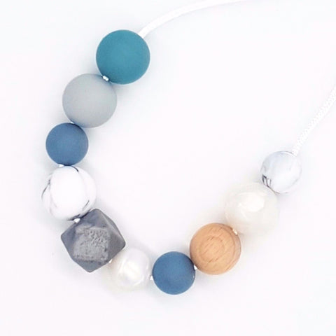 Storm Blue Necklace