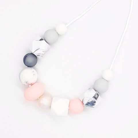 Baby Pink 'Serenity' Necklace
