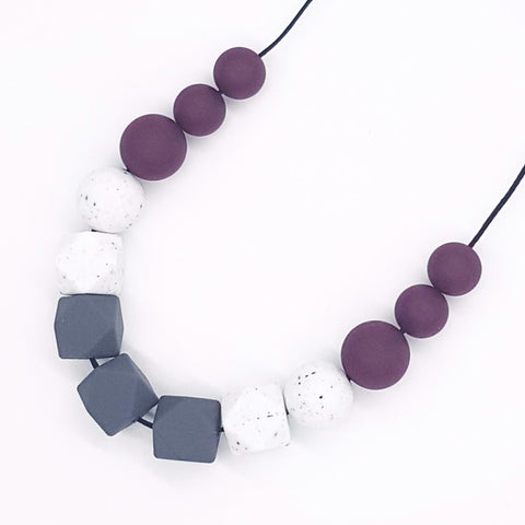 Smokey Port 'Liat' Necklace