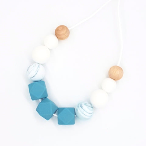 Teal & Marble Basics Necklace