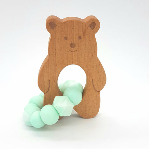 Wholesale Mint Marble Baloo Teether
