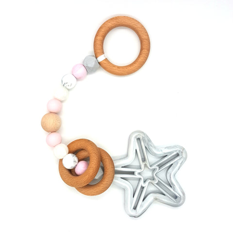 Baby Pink & Marble Star Play Gym Toy