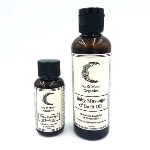 Wholesale Ivy & Moon Organics - Baby Massage & Bath Oil
