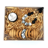 Zebra Marble Boxed Gift Set