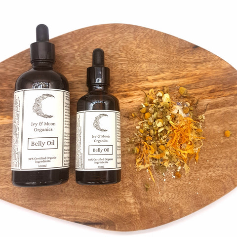 Wholesale Ivy & Moon Organics - Belly Oil