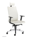 Intrata Chair with seat sliding system