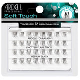 Ardell Duralash Soft Touch Knotted Flare Trios - Medium Black