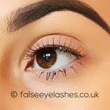 Ardell Fashion Lashes Brown 116 - Side Shot