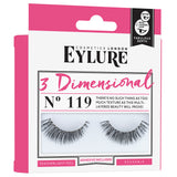 Eylure Cosmetics London - 3 Dimensional Lashes 119 (Angled)