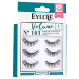 Eylure Cosmetics London - Volume Lashes 101 Multi Pack (Angled)