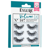 Eylure Cosmetics London - Volume Lashes 107 Multi Pack (Angled)