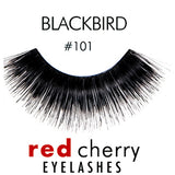 Red Cherry Lashes Style #101 (Blackbird)