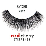 Red Cherry Lashes Style #117 (Ryder)