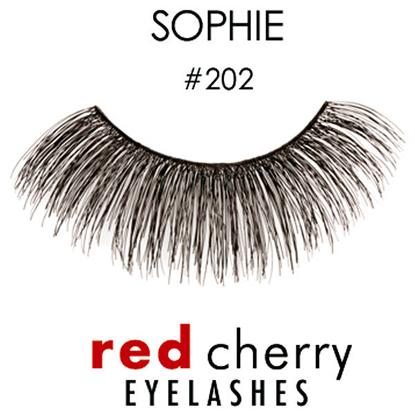 Red Cherry Lashes #202 (SOPHIE)