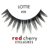 Red Cherry Lashes Style #28 (Lottie)