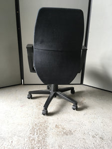 Charcoal 'IBM' operator chair