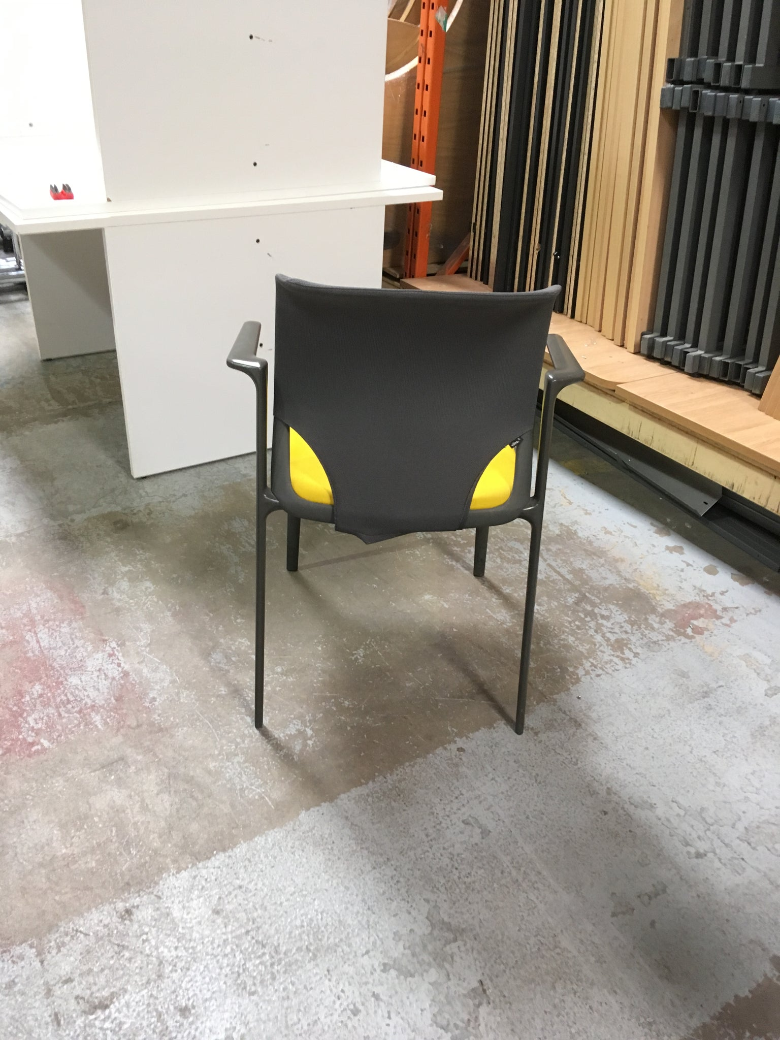 Yellow Stacking Chair